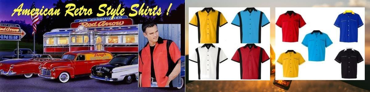 American Retro style Shirts