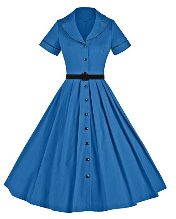 Retro style 50's dress