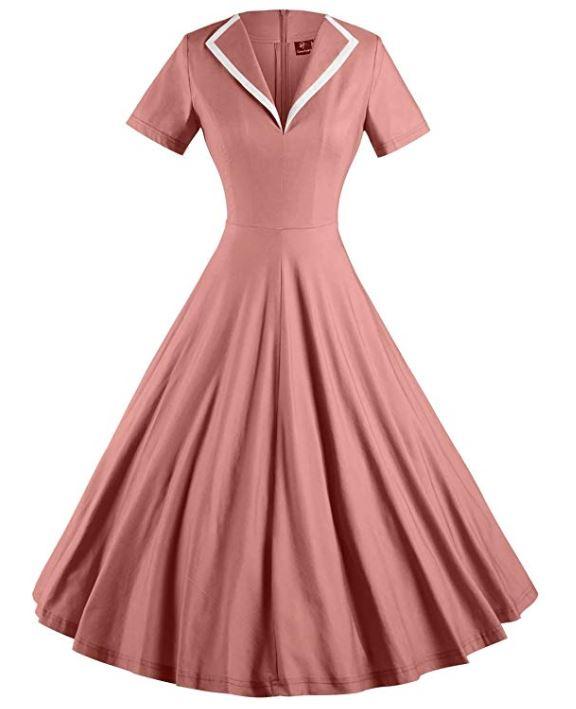 Girls retro 50's dress