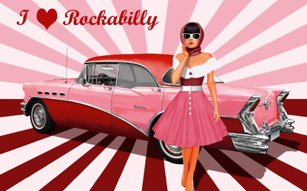 Rockabilly Pin-up dresses