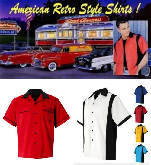 American Rockabilly Retro shirts
